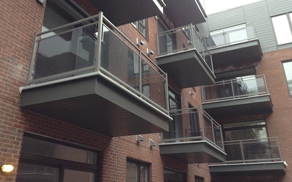 Balconies & structures